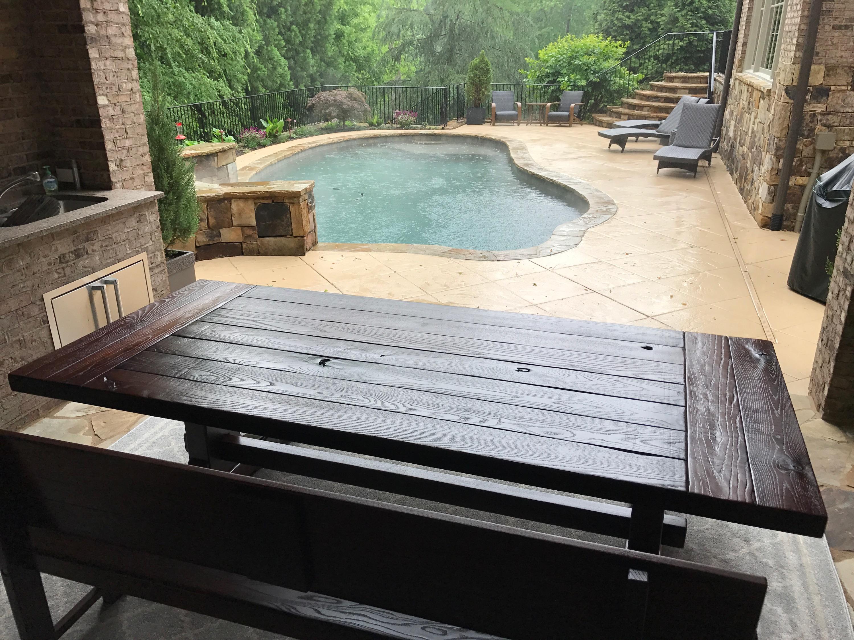 Rustic Trades ATL outdoor table