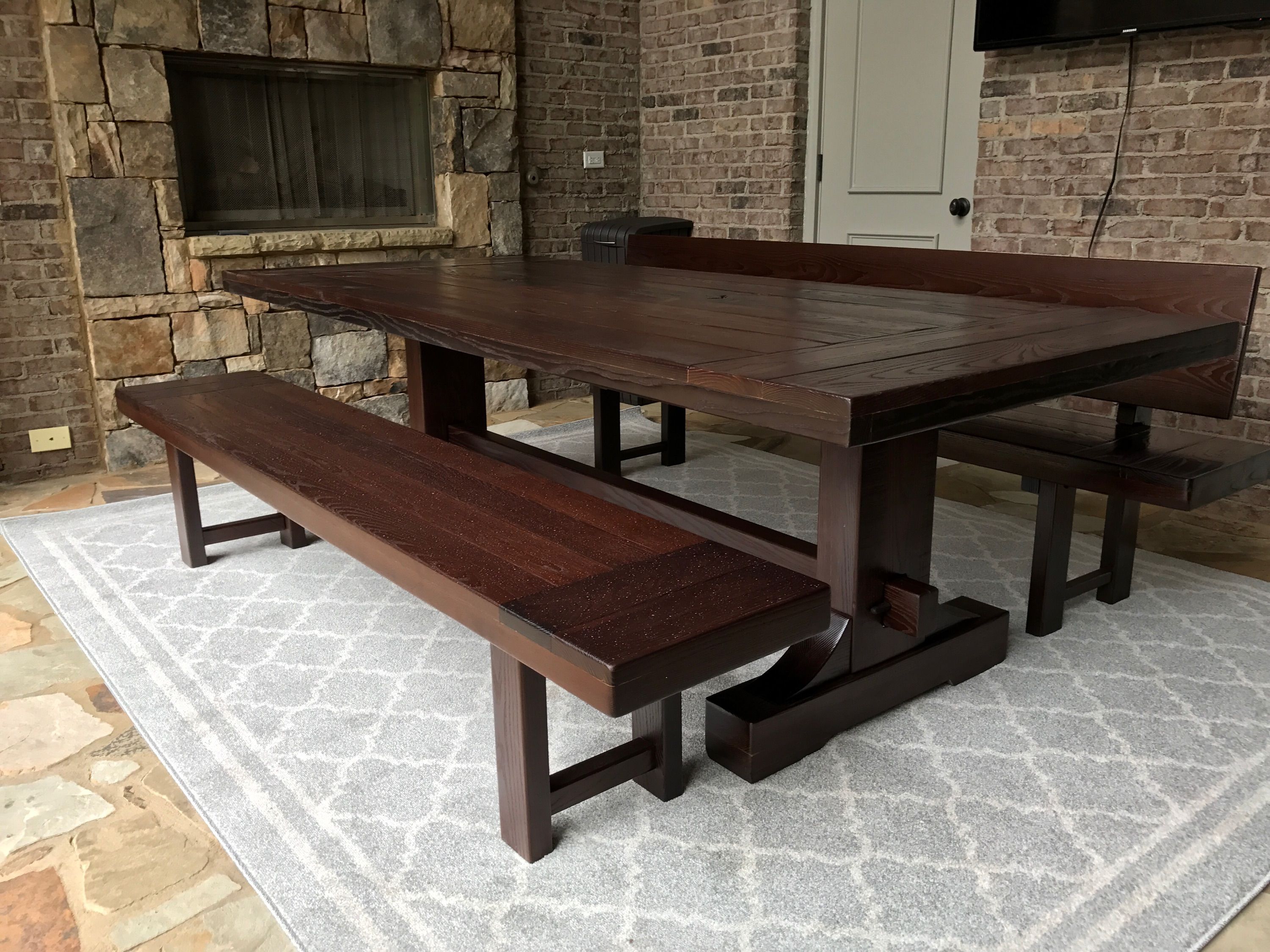 Rustic Trades Atlanta Outdoor table